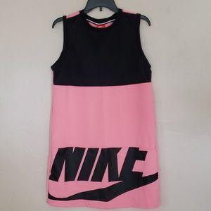 NIKE Color block pink and black dress